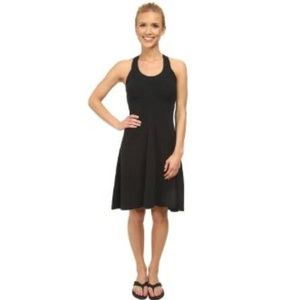 prAna Cali Dress Black High Low | M